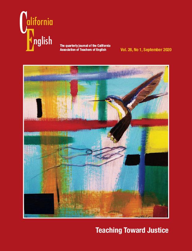 California English journal cover, September 2020
